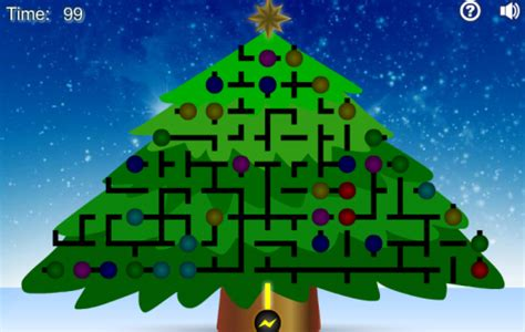 christmas tree light up puzzle light up the christmas tree neatorama 8257