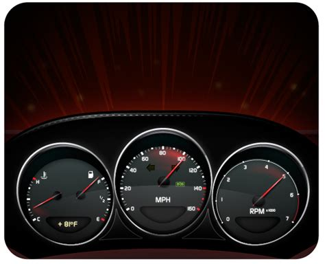 Create A Stylish Sports Car Dashboard With Areas Of