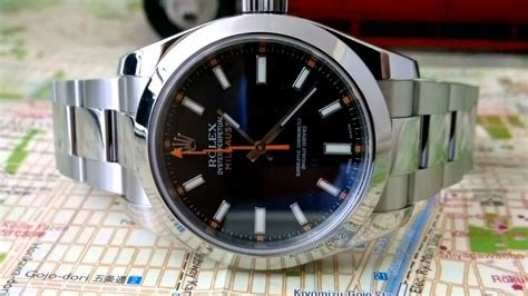 FUTURE WRIST WATCH CLASSICS - Rolex Milgauss Black dial ...