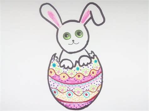 süße bilder zum malen osterhasenbild tutorial ein kaninchen hase malen zeichnen lernen f 252 r anf 228 nger