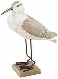 Animaux En Bois Décoration : oiseaux marins animaux marins lords d coration marine ~ Teatrodelosmanantiales.com Idées de Décoration