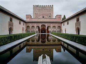 Palacio De Comares  Second Section Of The Entrance Hallway