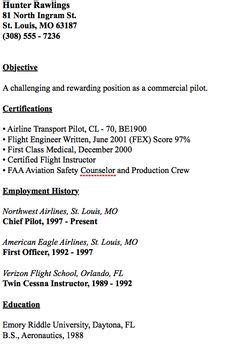 Entry Level Pilot Resume by Sles Of Cover Letter For Fresh Graduates Http