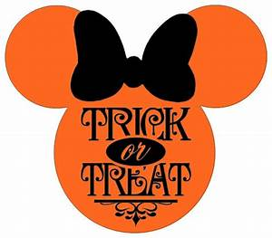 Personalized Trick or Treat Halloween Minnie OR Mickey ...