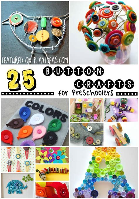 25 as a button crafts for preschoolers button 615 | 8856036da90779cf6ca74d393f7f7249