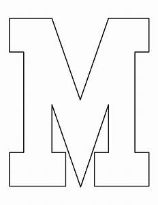 Letter Outlines Printable Pin By Muse Printables On Printable Patterns At