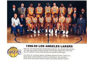 los angeles lakers team photo basketball oneal