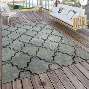 Outdoor Teppich Grau : in outdoor teppich marokkanisches muster grau design teppiche ~ Frokenaadalensverden.com Haus und Dekorationen
