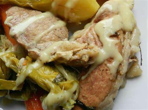 recettes de pot au feu et porc