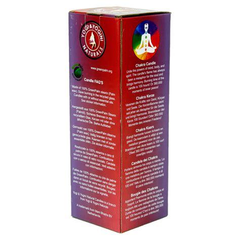 Meditazione Candela by Candela Chakra Con Olii Essenziali Karam Khand Shop
