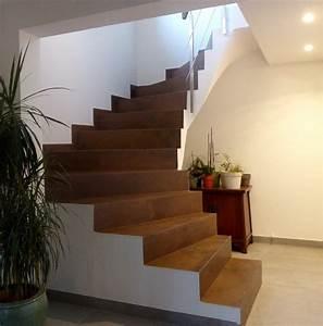 Recouvrir Escalier Béton : recouvrir escalier beton elegant recouvrir escalier beton ~ Premium-room.com Idées de Décoration
