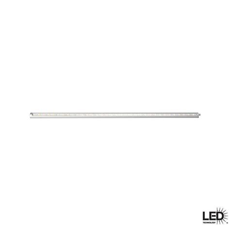 hton bay slim 18 in led silver dimmable
