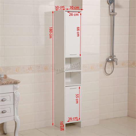 Floor Standing Bathroom Cupboard by Westwood Bathroom Cabinet Shelving Storage Cupboard