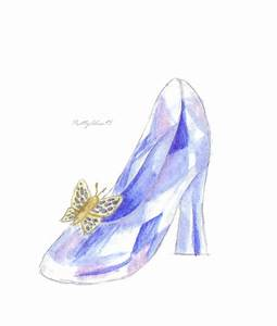 Cinderella's Glass Slipper (Disney) by PrettyAlice95 on ...