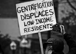 speak out about gentrification