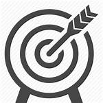 Icon Objective Business Marketing Icons Goal Target