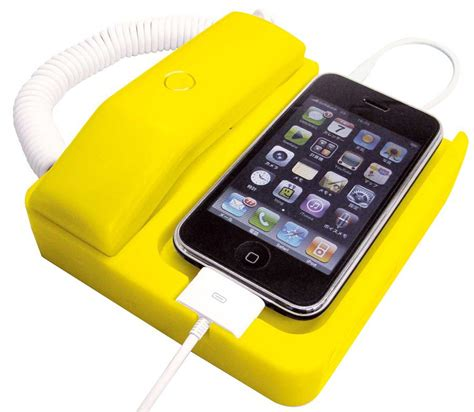 iphone phone phone x phone iphone dock turns your iphone into telephone