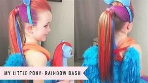 My Little Pony: Rainbow Dash Tutorial by SweetHearts Hair ...