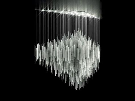 glass sculpture chandelier led chandelier bamboo lighting sculptures