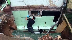 Balkontür Abdichten Außen : 2013 10 07 aussenanlage kellerwand aussen ged mmt youtube ~ Yasmunasinghe.com Haus und Dekorationen