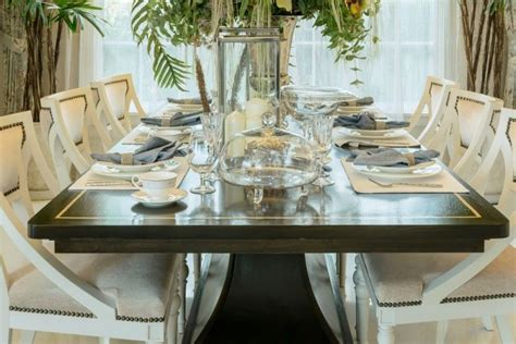 modern dining table setting ideas table dressing