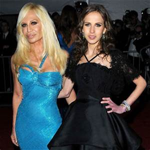 Donatella Versace and daughter Allegra Versace go on a ...