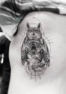 Geometric And Animal Tattoos By Dr  Woo