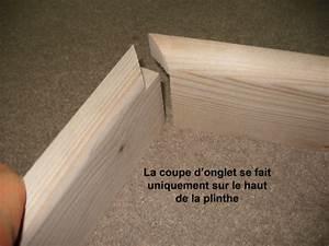 Plinthes et coupes d'onglet Bois+ Le Bouvet