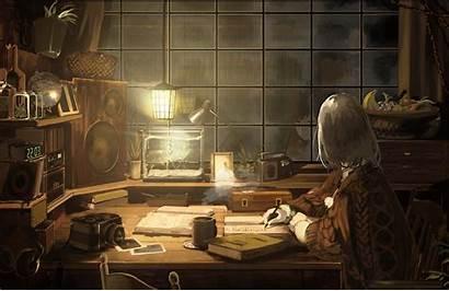 Chill Study Wallpapers Rainy Engine Lofi Anime