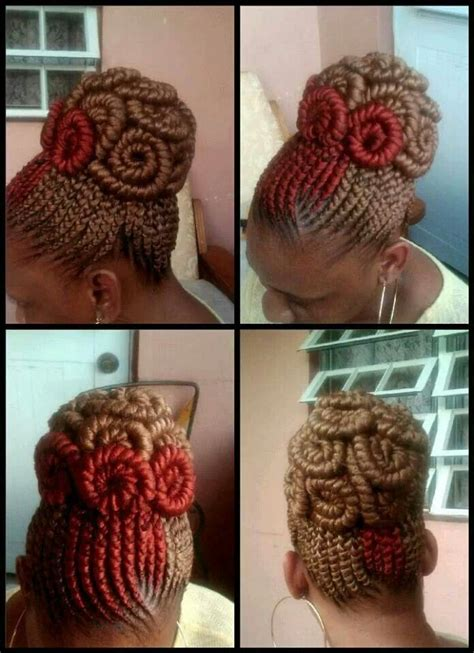 invisible cornrow updo  hairstyles pinterest