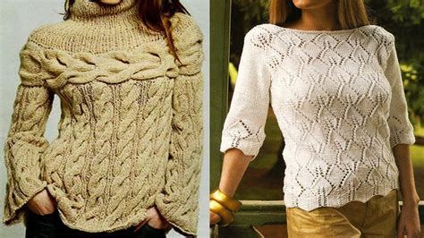 sueter mixtos tejidos a crochet ideas