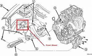 How Do I Remove And Install The Front Motor Mount On A