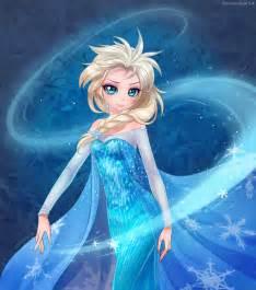 Anime Elsa Frozen