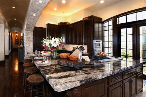 kitchen island with granite top and breakfast bar 5 ideas for granite kitchen island design granite selection 9905