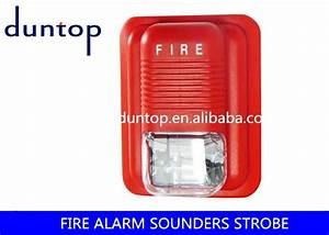 Conventional 2 Wire Sounder Strobe Dc24v 3 Alarm Sounds