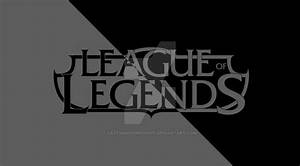 League of Legends minimalist black logo by ...