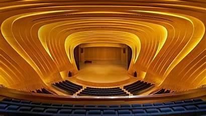 Hall Concert Auditorium Modern Baku Theatre Opera