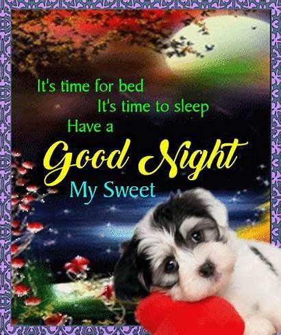 Night Goodnight Sleep Sweet Ecard Card Cards
