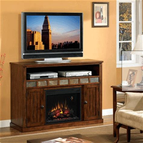 entertainment center with fireplace insert classic sedona entertainment center with 23in