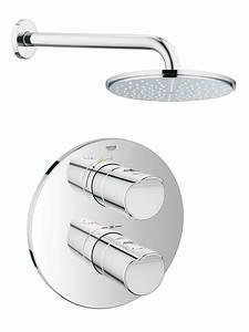 Grohe Grohtherm 3000 Cosmopolitan : grohe grohtherm 3000 cosmopolitan rainshower shower solution pack1 ~ Watch28wear.com Haus und Dekorationen
