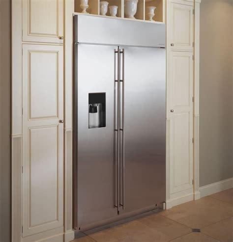 monogram zissdkss   built  side  side refrigerator  adjustable glass shelves