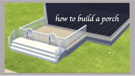 Build A Porch On Sims 4
