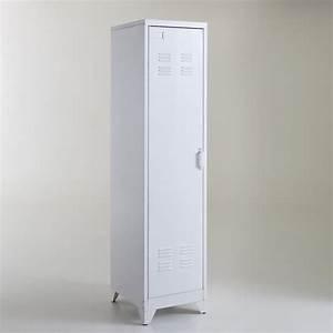 Armoire Vestiaire Metal : la redoute armoire vestiaire am ricain m tal hiba ~ Edinachiropracticcenter.com Idées de Décoration