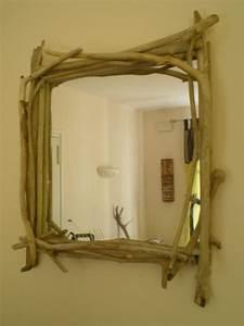 Miroir En Bois Flotté : miroir en bois flott photo de miroirs la belle au bois flotte ~ Teatrodelosmanantiales.com Idées de Décoration