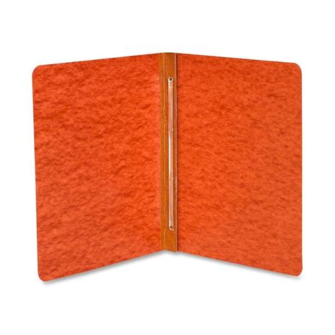 "Acco Pressboard Report Cover, 3"", Rust Red - LD Products"