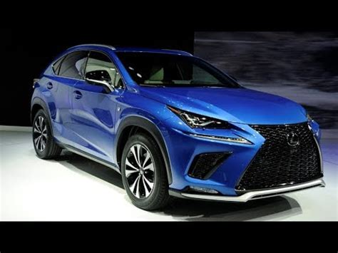 2019 Lexus Nx 300 With Advanced Safety System Youtube