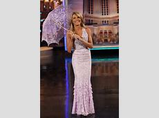 Vanna White's Wheel of Fortune Dresses and Beauty Secrets