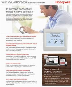 Honeywell Pro 8000 Wi 2c