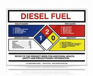 services With diesel fuel msds