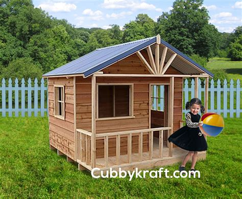 Snow Gum Cubby House Backyard Playhouses By Cubbykraft